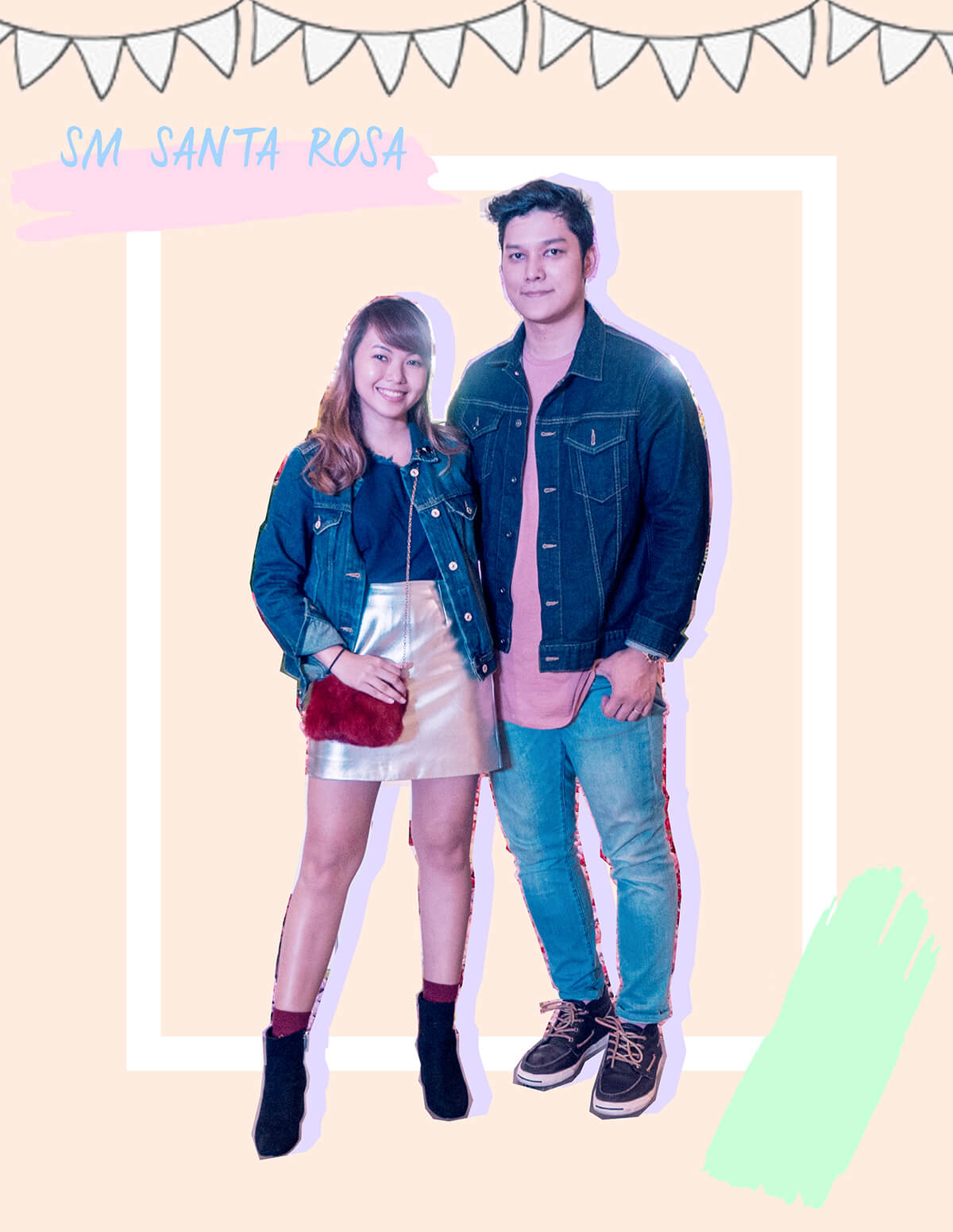 Seph Cham and Trice Nagusara at SM Santa Rosa