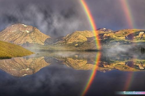 雙彩虹 l Double Rainbow *A Beautiful Nature*