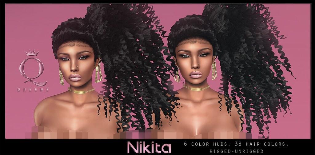 QUEENZ | Nikita Hair - SecondLifeHub.com