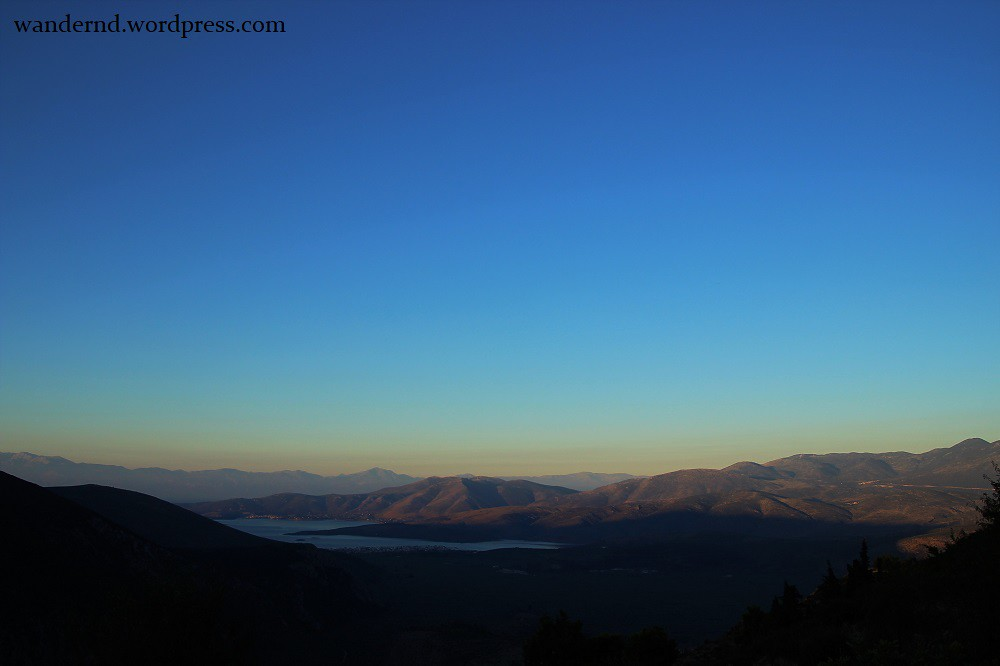Delphi - Sonnenaufgang