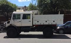 Truck CFE en Monterrey