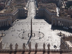 St. Peter's Square from the dome