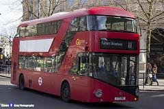 Wrightbus NRM NBFL - LTZ 1061 - LT61 - Fulham Broadway 11 - Go Ahead London - London 2017 - Steven Gray - IMG_5773