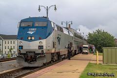 AMTK 55 | GE P42DC | Memphis Central Station