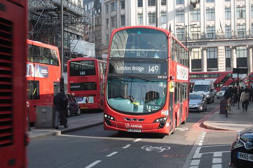 Arriva London DW312 LJ10CUX