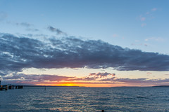 Sound sunset