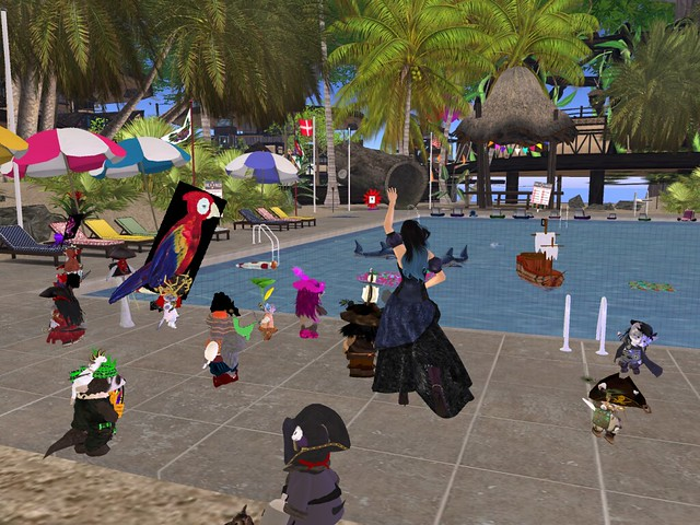 Pirate Rez Day Party for Linn and Rhia at Raglan Shire
