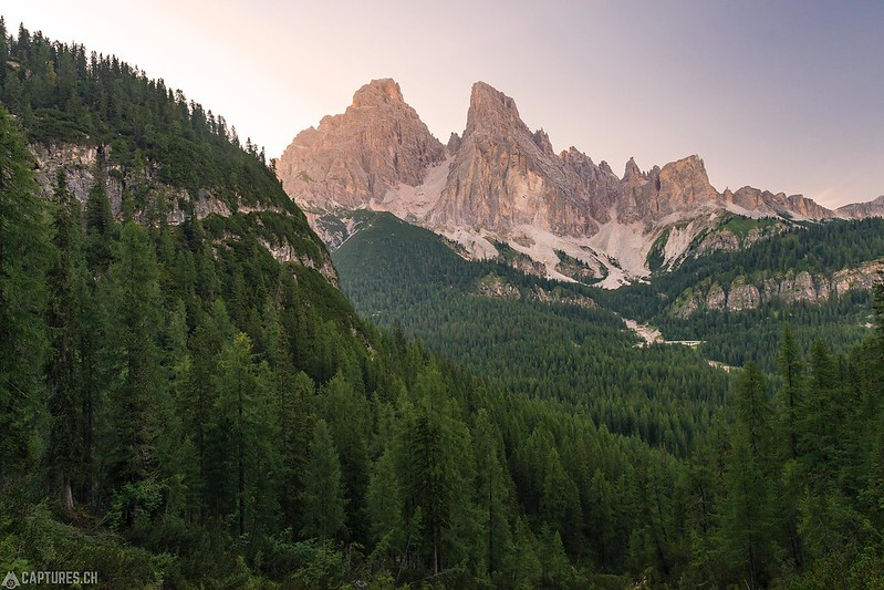 Last light - Dolomites