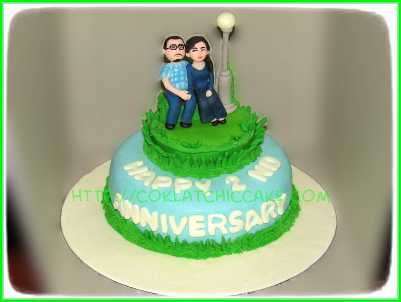 CakeAnniversary Couple