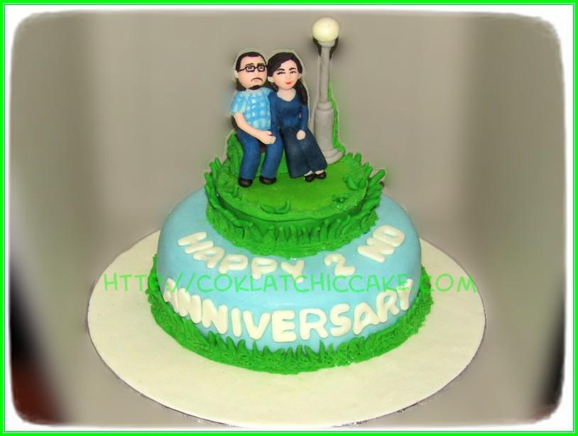 CakeAnniversary Couple
