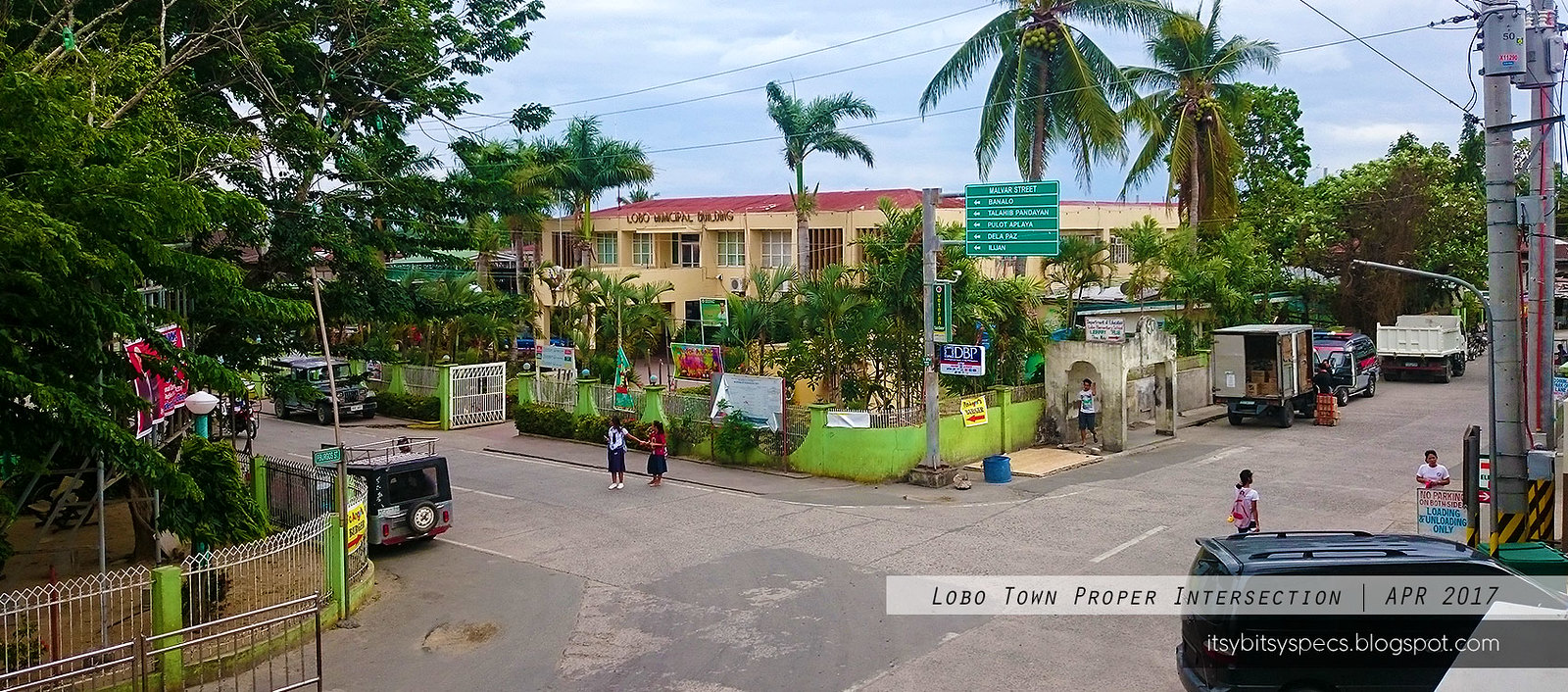 Lobo Town Proper Intersection