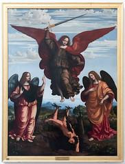 The Three Archangels | Marco d'Oggiono | Pinacoteca di Brera di Milano-22