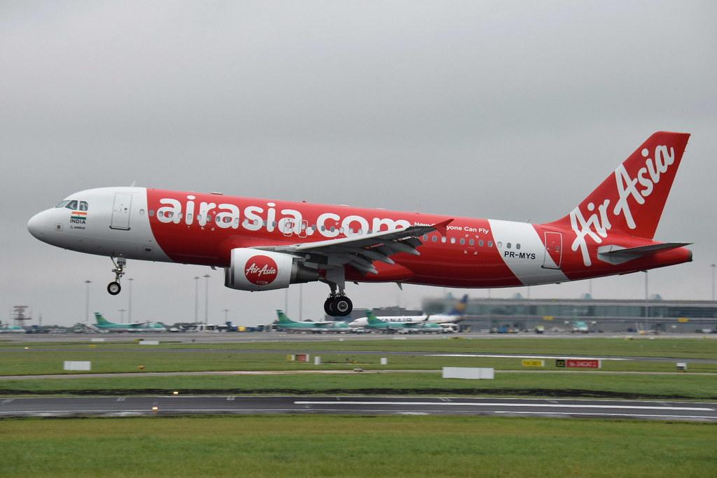 PR-MYS A320-214 TAM (AirAsia India)