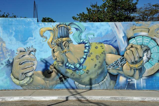 Heart Sacrifice Mural Maya, Nikon D700, AF-S Nikkor 28-300mm f/3.5-5.6G ED VR