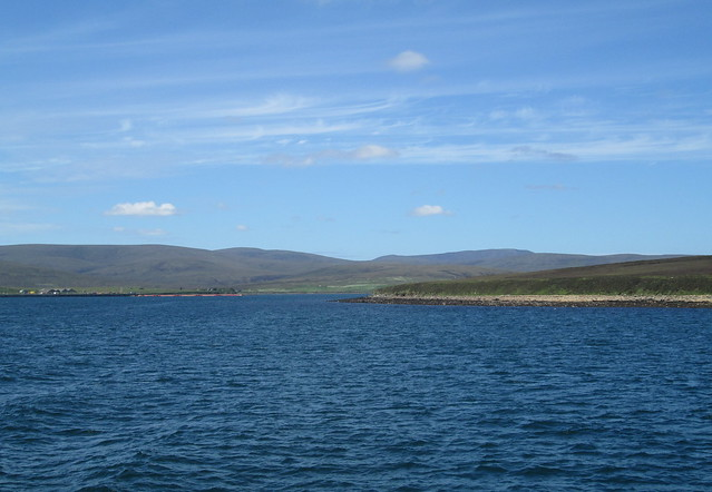 Looking back to Hoy from Flotta Ferry