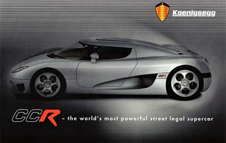 Koenigsegg CCR (2004-2006)