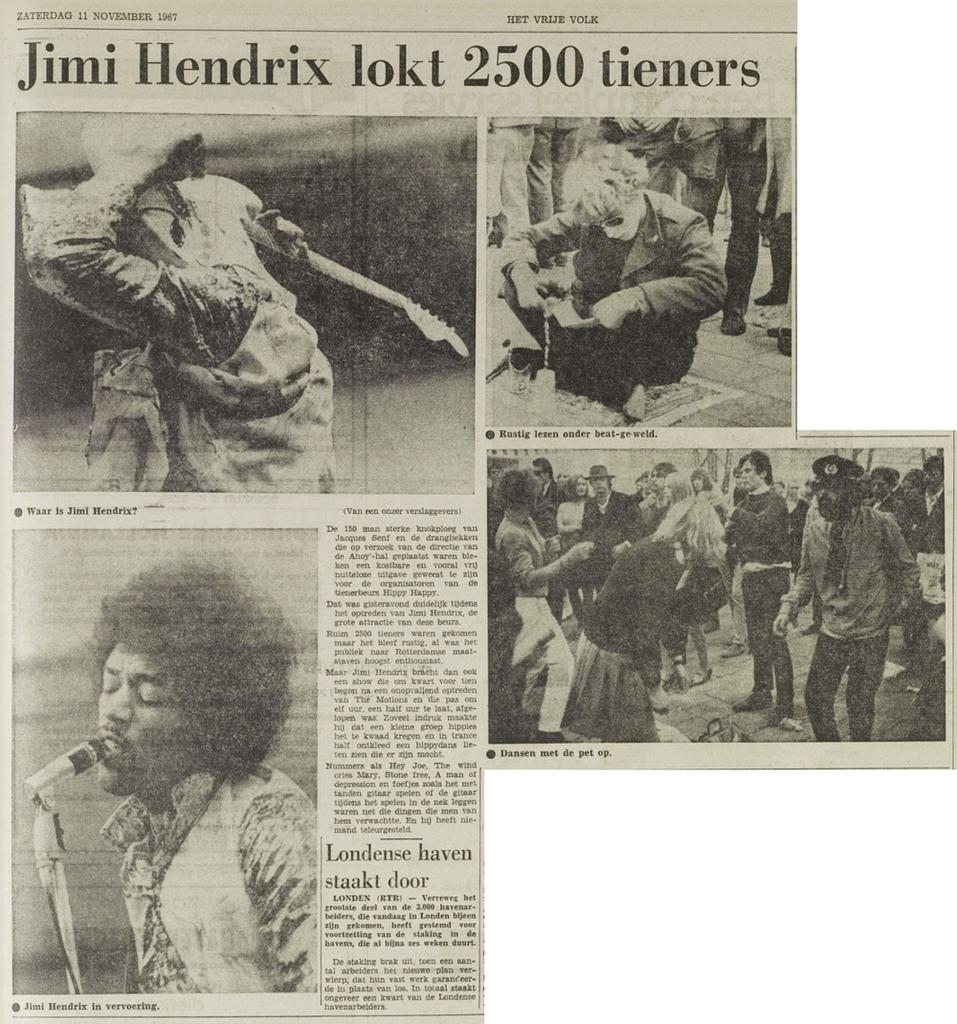 HET VRIJE VOLK (NETHERLANDS) NOVEMBER 11, 1967