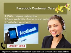 Avail Facebook Customer Care 1-850-361-8504 To Safe And Secure Your FB Account