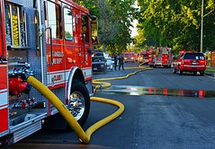 North Hills Fire Contained to Attic