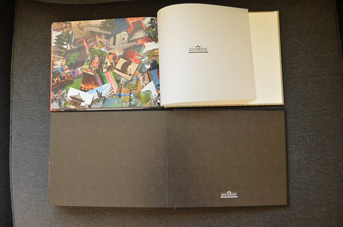 Picaboo Madison Hardcover Photo Book with black endpapers