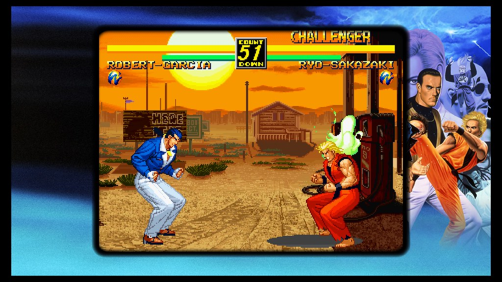 How Classic Snk Fighting Game Art Of Fighting Was Born Playstation Blog