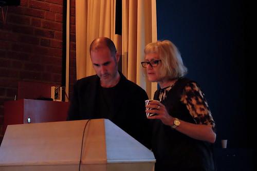 Daniel Peltz och Robyn Backen
