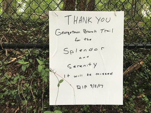 Georgetown Branch RIP