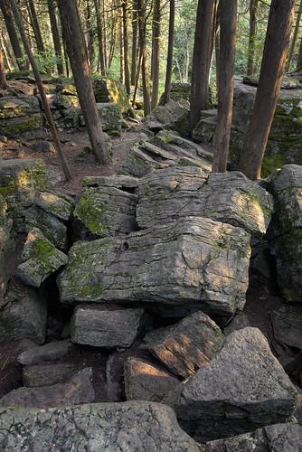 warsawcavesconservationarea rocks cracks nature landscape ontario hiking trail warsaw canada ca