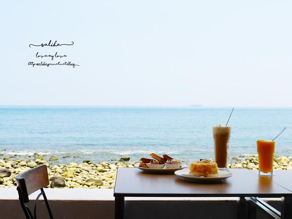 新北金山北海岸海景餐廳推薦洋荳子海邊咖啡館 (35)