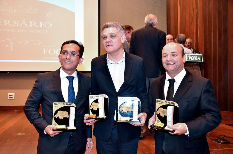 JOSE ODECIO (ABIH), FERNANDO VIRGILIO (SENAC), ABDON GOSSON