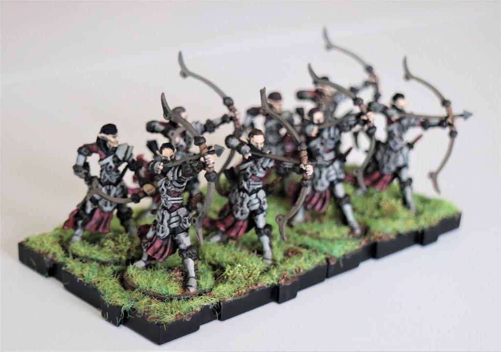 Runewars Miniatures Royal Maple Elves Front