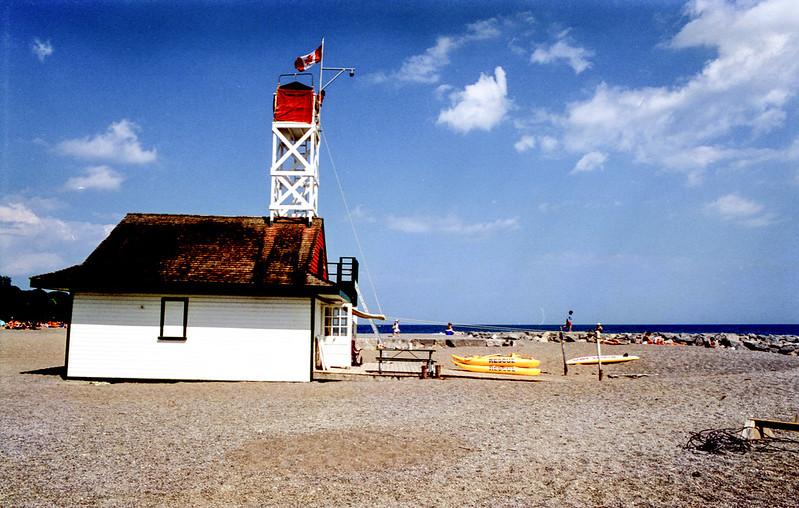 Bright Sunny Day at Leuty Beach