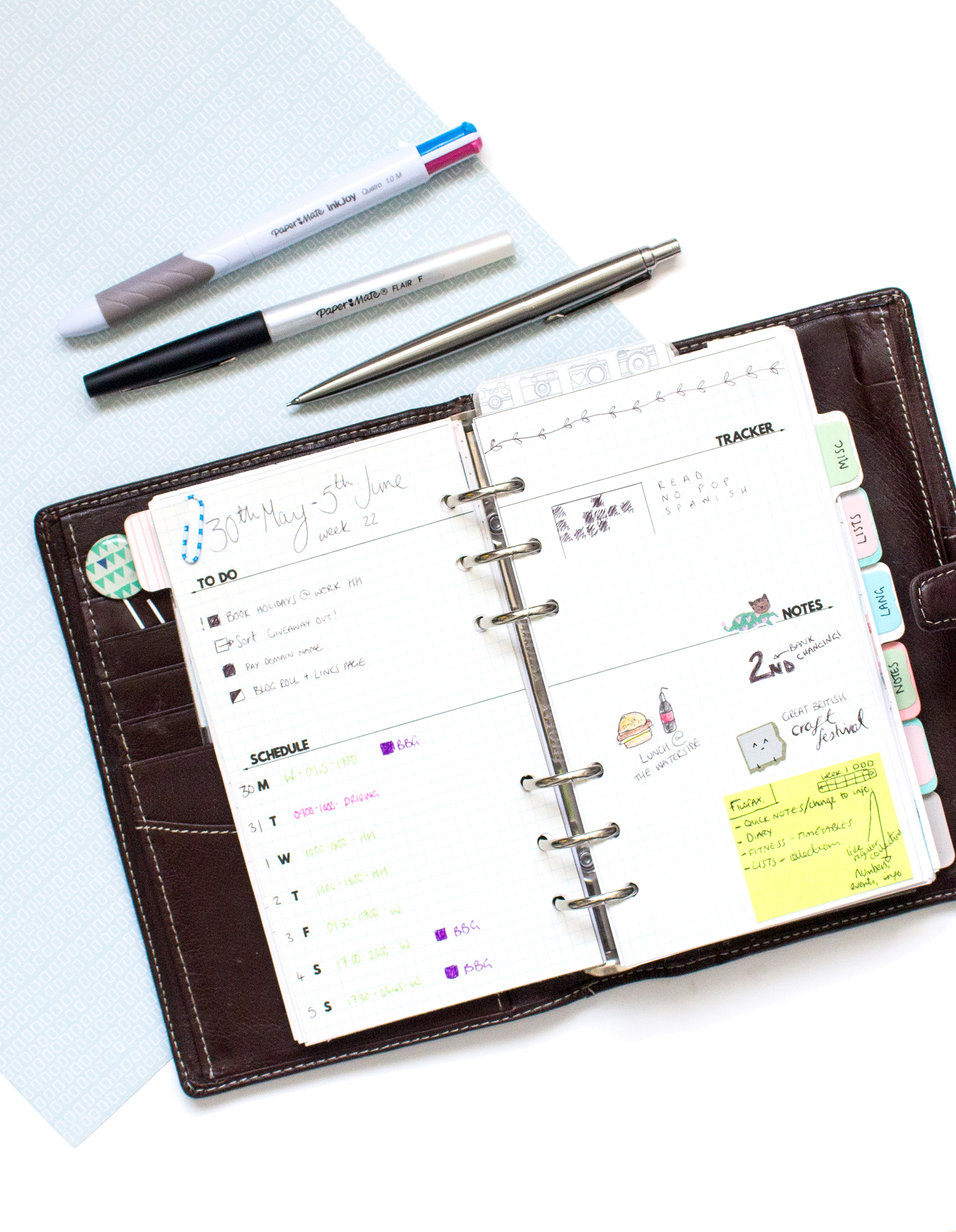 Bullet-Journal-With-Filofax