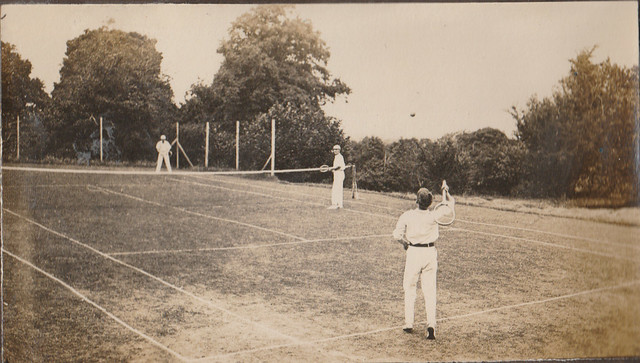 Warden's tennis court