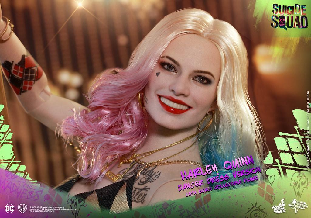 Hot Toys - MMS439 - 《自殺突擊隊》1/6比例 哈莉·奎茵(舞衣版) Suicide Squad Harley Quinn (Dancer Dress Version)