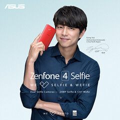 Zenfone 4 Selfie - With Gong Yoo Earthlingorgeous