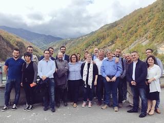 Commissione Territorio e Ambiente alla Diga di Ridracoli (FC)