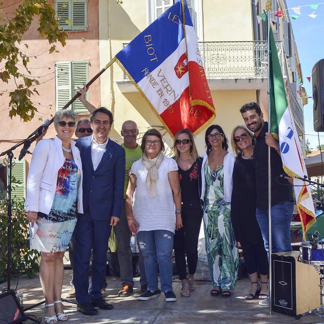 Jumelage Biot Vernante 2017
