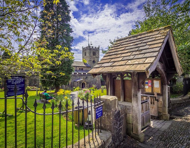 St. Andrew's, Sedbergh, Cumbria. Credit Bob Radlinski, flickr