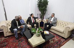 19.09.2017 - Visita do ministro venezuelano, Gerardo Delgado Maldonado