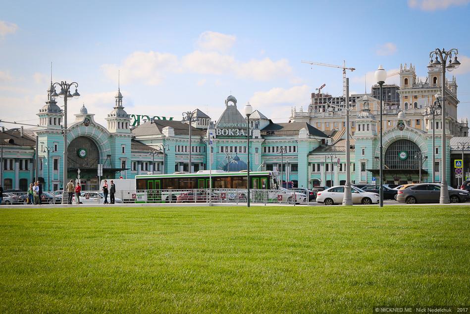 Площадь у Белорусского вокзала просто не узнать! IMG_4232