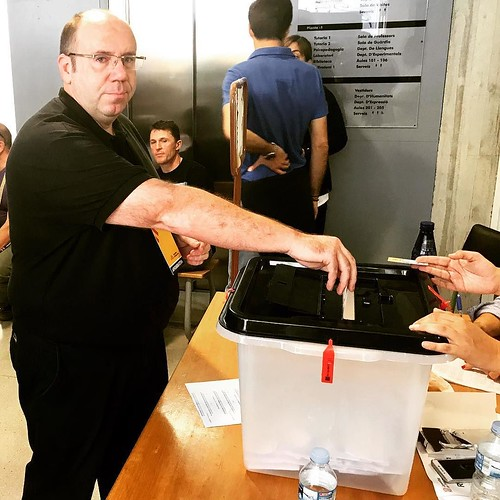 Per la #democràcia, la #dignitat i un #noupaís #JoVoto #CatalanReferendum #CATVotaSí #HolaRepública #Gelida #Penedès
