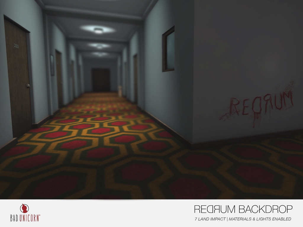 NEW! Redrum Backdrop @ Salem 2017
