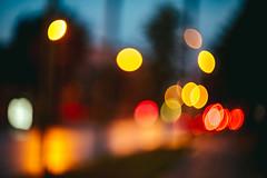 Street Lights Bokeh