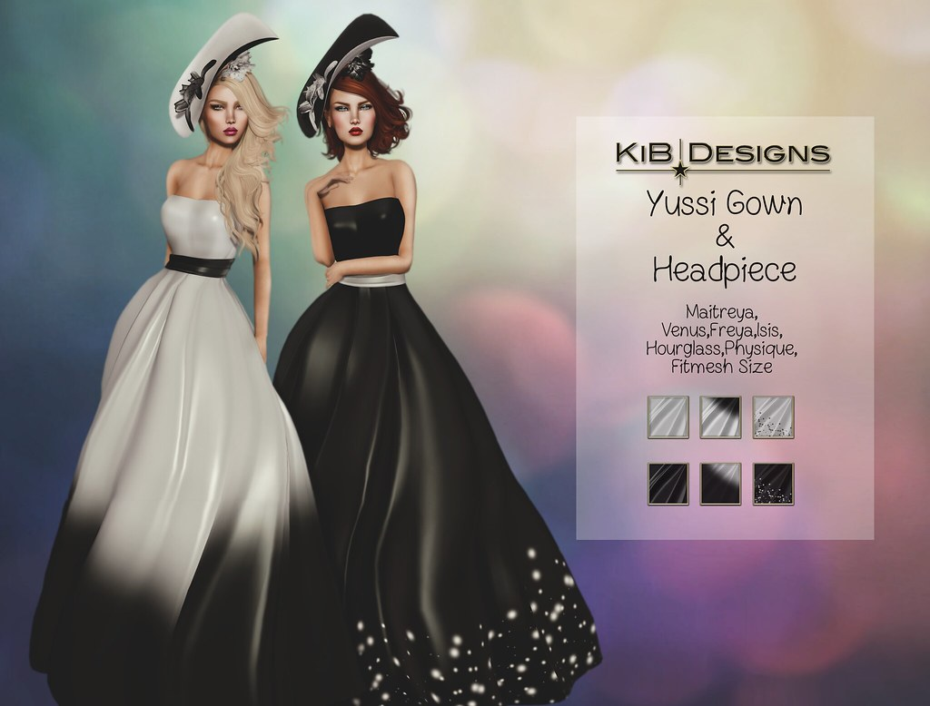 KiB Designs – Yussi Gown & Headpiece @Ying/Yang Event
