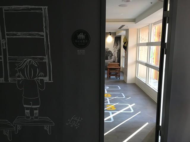 二樓的傳統遊藝室@宜蘭捷絲旅礁溪館