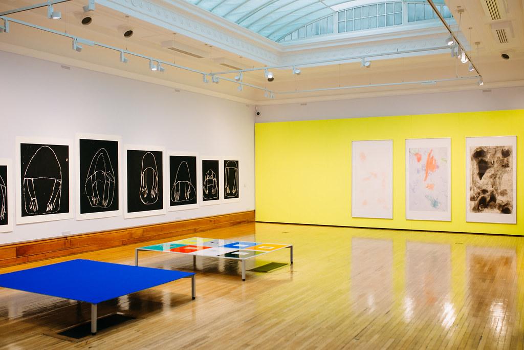 Installation view of Andrea Büttner, Turner Prize 2017. Photo: © Tom Arran.