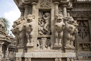 Kanshipuram - Kailasanatha Temple