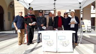 Positiva la prima iniziativa dell'Anap in piazza a Castel Bolognese per informare i cittadini