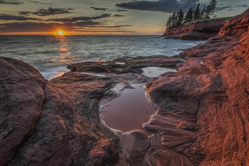 Seacow Head Sunset, PEI Canada